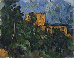 Paul Cézanne - Château Noir - Google Art Project.jpg