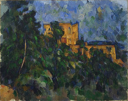 Paul Cézanne - Château Noir - Google Art Project