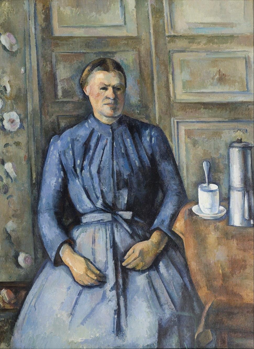 Paul C%C3%A9zanne - Woman with a Coffeepot - Google Art Project