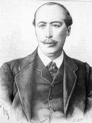 Paul von Hatzfeldt - Paul von Hatzfeld zu Trachenberg  1885, Holzstich