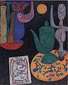 Paul Klee ~ ohne Titel (letztes Stillleben) ~ 1940.jpg