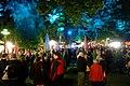 Pause unter illuminierten Bäumen. 01.jpg