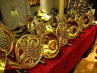 French horn - Paxman horns
