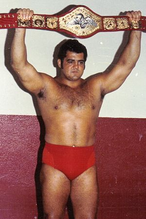 Pedro Morales - Morales as the WWWF Heavyweight Champion