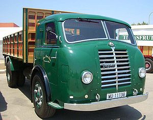 Pegaso - 1951 Pegaso II truck as restored in 2006