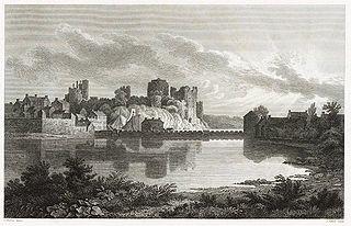 Pembroke Castle, from the N.E.