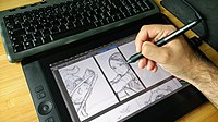 Penciling on Wacom Cintiq 13HD by David Revoy.jpg