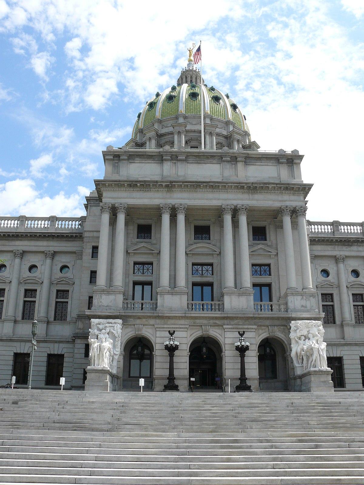 Pennsylvania State Capitol Sculpture Groups Wikipedia