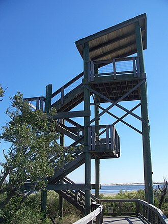 Big Lagoon State Park - Image: Pensacola FL Big Lagoon SP obs tower 01