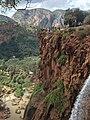 People near the edge in Ouzoud waterfalls.jpeg
