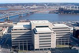 Peoria - Caterpillar Administration Building from Savings Tower.jpg