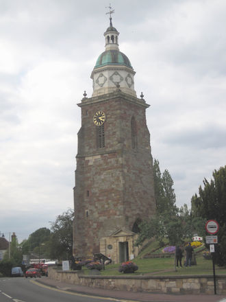 Upton-upon-Severn - The 'Pepperpot' – remains of a former church