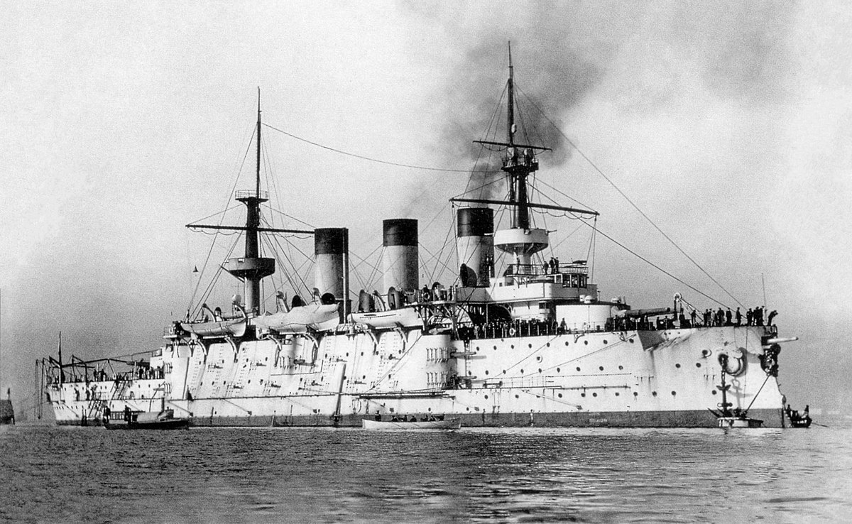The history of the first Russian warship Eagle 34