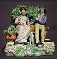 Perswaition, Staffordshire, England, 1815-1825, enameled earthenware - Winterthur Museum - DSC01494.JPG