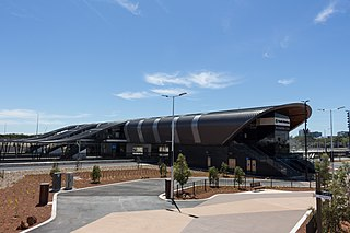 Perth Stadium railway station railway station in Perth, Western Australia