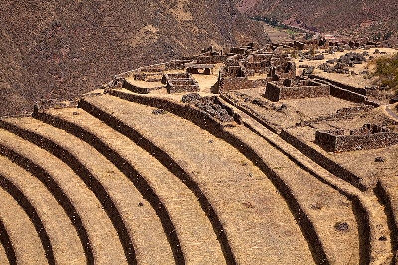 File:Peru Pisac ruins.jpg