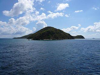 Peter Island - Peter Island viewed from the uninhabited Western tip
