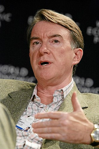 Peter Mandelson - Image: Peter Mandelson