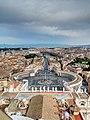 Petersplatz Rom Vatikanstadt HDR 2013 03 b.jpg