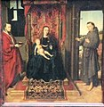 Petrus Christus Virgin and Child with Saints Jerome and Francis.jpg