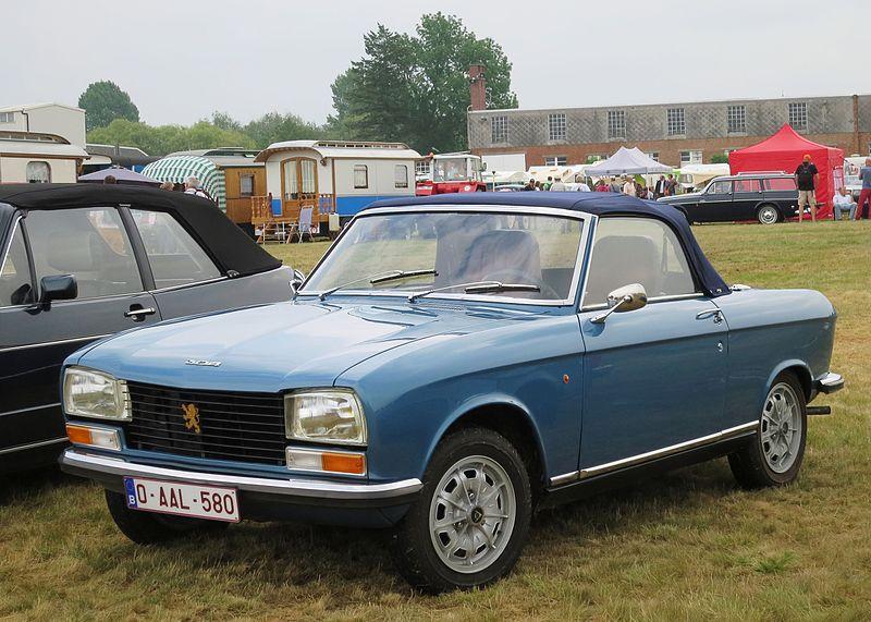 File:Peugeot 304 cabriolet at Schaffen-Diest in 2015.JPG