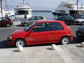 Peugeot 106 - 2001 Peugeot 106 Rallye, 1.6L 16v 120hp (Greece)