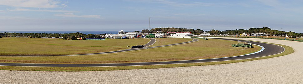 Phillip island grand prix circuit pano