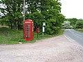 Phone box at The Barracks - geograph.org.uk - 810243.jpg