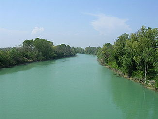 Piave in Norditalien