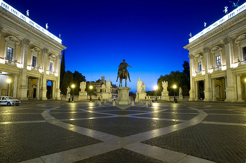 File:Piazza del Campidoglio, Rome - 2522.jpg