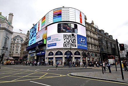 Piccadilly Circus. - Londres