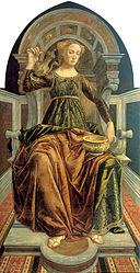 Piero del Pollaiolo: Temperanza