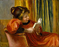 Pierre-Auguste Renoir - Girl Reading - Google Art Project.jpg