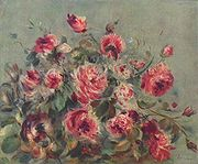 Pierre-Auguste Renoir, Roses de Wargemont, 1882, collection privée