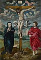 Pieter Coecke van Aelst the elder (1502-1550) (circle of) - The Crucifixion, Central Panel - NG1088.1 - National Gallery.jpg
