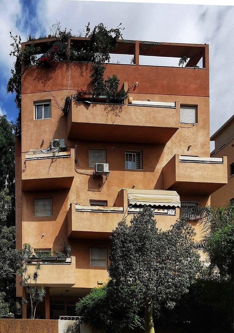 בית ברחוב חזנוביץ בתל אביב
