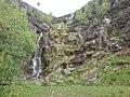 Pingot Quarry Waterfall May 2009.jpg