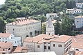 Piran, view from the tower of the St. George's Church to the St. Francis of Assisi Church.jpg