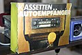 Pirna DDR Museum Kassetten Autoempfänger.jpg