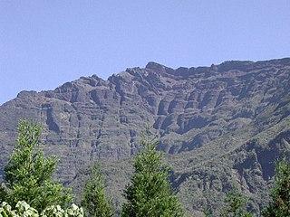 Piton des Neiges mountain in Réunion
