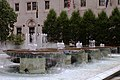 Pittsburgh Downtown 2019-08-20 Fountains at Mellon Square.jpg