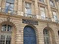 Place Vendôme - ministère de la Justice, hôtel de Bourvallais (Paris) (2).jpg