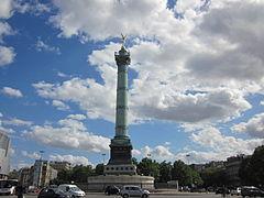 Kolumna Lipcowa na Placu Bastylii