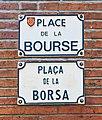 Place de la Bourse (Toulouse) - Plaques.jpg