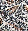 Plan de Paris vers 1530 Braun Paris HAAB porte Montmartre.jpg