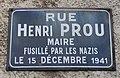 Plaque rue Henri-Prou, Les Clayes-sous-Bois, Yvelines.jpg
