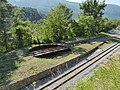 Plaque tournante en gare d'Annot (Alpes de Haute-Provence).jpg