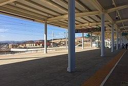 Platform of Fuyuanbei Railway Station (20180215095832).jpg
