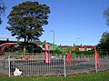 Playground - Shelf Hall Park - Wade House Road - geograph.org.uk - 587055.jpg