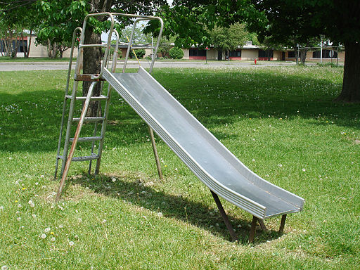 Playground Slide Metal